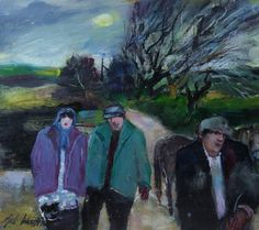Gill Watkiss - Sheleigh Northcountry, Near Camborne is available for sale at Castlegate House Gallery. Paintings For Sale, Gallery, Artist, Prints, Artists, Printmaking, Amen