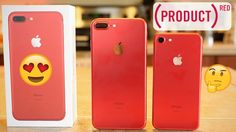 NEW (PRODUCT) RED iPhone 7 & 7 Plus Unboxing! #RediPhone