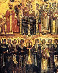 Σημασία της ήττας των εικονοκλαστών: α) νίκη της ελληνικής πνευματικής παράδοσης. β) τερματίστηκαν οι θρησκευτικές διαμάχες. γ) άρχισε μια περίοδος γόνιμης συνεργασίας κράτους-εκκλησίας.