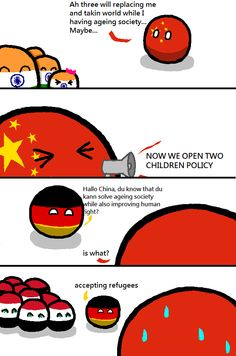 Way out ( China, India, Germany, Syria ) by The Easterner #polandball #countryball