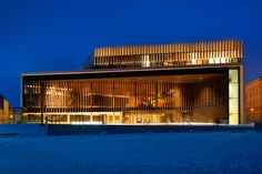 New theater complex in Linz, Austria. Repinned by www.lunik2.com #hometown #Linz #roots