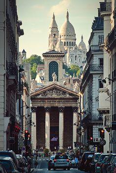 #SacréCoeur de #Paris...fue el punto más alto hasta que se construyó la #TorreEiffel http://www.viajaraparis.com/?page=montmartre.php