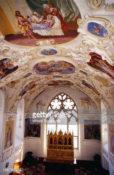 Interior Of Chapel Bojnice Castle, Slovakia