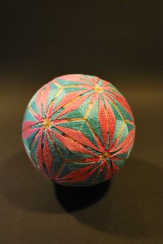 May2009_my 88yrs old grandmas works : TEMARI by NanaAkua, via Flickr :  NanaAkua (My mother made these for three generations of children.) DA-H