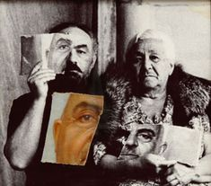 My Father's Portrait Torn in the Moment of Jealousy. Oil on canvas, glued to photopaper. 41 x 46 cm, Famous Armenians, Cinema Theatre, Make Art, Cinematography, Art Direction, Oil On Canvas, Documentaries, In This Moment, Ukraine