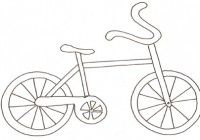 Disegni Di Biciclette Da Colorare Per Bambini Immagini Da Stampare