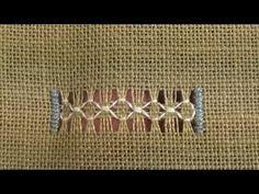 05 Mystic Christmas Sampler - Honeycomb Hemstitch - YouTube