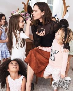 This truly is what our dream hair and makeup squad looks like. Tap the link in our bio to watch adorable children interview April cover star @VictoriaBeckhamand make sure to grab a copy of the issue today on newsstands. | : @pamela_hanson; Styled by: @c_n_h; hair: @orlandopita; makeup: @fulviafarolfi; manicure; @jinsoonchoi; set design: Matt Jackson; grooming: Thora; production: @redhooklabs  via INSTYLE MAGAZINE OFFICIAL INSTAGRAM - Fashion Campaigns  Haute Couture  Advertising  Editorial…