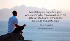 Fantastic NEW Dorje Shugden website launched! Quotes To Live By, Life Quotes, Postive Vibes, Zen Meditation, Daily Thoughts, Spiritual Awakening, Quote Of The Day, Spirituality, Product Launch
