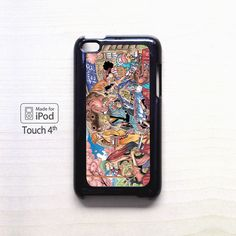 One Piece Ch 802 and US Weekly Shonen Jump for apple case iPod 4/iPod 5