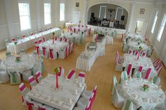Indoor Wedding/Reception Venue - Concert Hall at The Stanley Hotel Indoor Wedding Receptions, Wedding Reception Venues, Hotel Wedding, Wedding Locations, Dream Wedding, The Stanley Hotel, Concert Hall, Centerpieces, Weddings