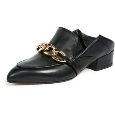 Veronica Beard Jaxon Loafers (6.749.120 IDR) ❤ liked on Polyvore featuring shoes, loafers, black, black glitter shoes, black leather shoes, black chunky heel shoes, chunky heel shoes and loafer shoes