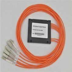 2 to 4 multimode ABS Module Fused Type Fiber Optic Splitter
