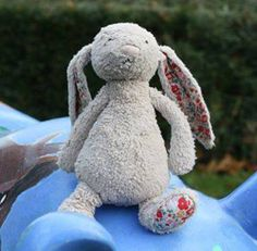 FOUND in WESSEX CONFRENCE CENTRE Sparsholt, Winchester  Little Grey jellycat Bunny is still searching for its owner so it can go home for Christmas! It missed its ride home from the Christmas Fair - please help us locate its owners so everyone can have a Merry Christmas! If you can help, please call the Wessex Conference Centre on 01962 797259 - and if not, please share the word! Contact: https://www.facebook.com/tiggerazls or https://www.facebook.com/TeddyBearLostAndFound