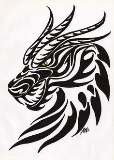 dragon templates to print - Google Search