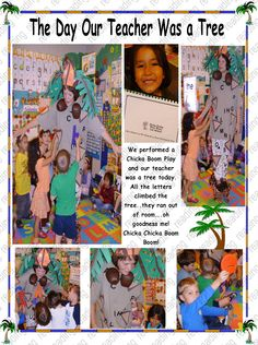 All ABC's on the teacher for this Chicka Boom Play Habits Of Mind, Social Emotional Development, Chicka Chicka, First Grade Teachers, 1st Day, Kindergarten Literacy, Book Week, Emotional Intelligence, Anchor Charts