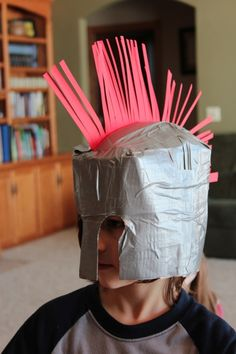 Greek Helmet...this might cme in handy for a school project some day in the future