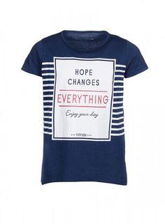 T-Shirt's S/S azul-indigo