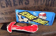 Vintage Authentic 1965 TOPPS Flying Things by MADVintology on Etsy