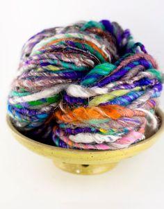 magnolia handspun: Yarn as art?