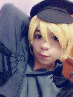 My cosplay as Kagamine Len Senbonzakura ver : Vocaloid