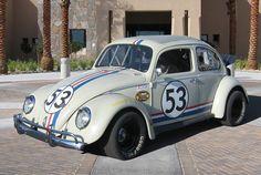1963 Volkswagen Beetle Ragtop NASCAR Herbie