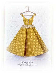 I do love a paper dress!