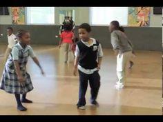 Dancing at kidLAB - YouTube