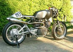 Virago cafe racer. I hate the front end, but i love what they got going on with the back end.