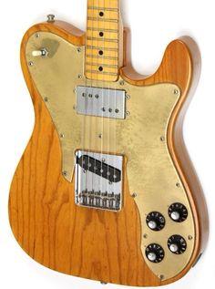 1974 Fender Telecaster Custom Natural | Reverb