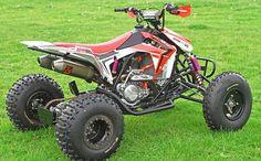2016 / 2017 Honda CRF450R Engine TRX450R Sport ATV / Race Quad Model Changes & Upgrades - Yamaha 450 / Suzuki 450 / KTM 450 / Kawasaki 450 Competition versus Honda TRX450R 450 cc