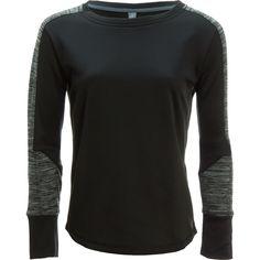 Mountain Hardwear Snowchill Long-Sleeve Fleece Pullover Heather Black L