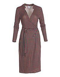 Înveliți rochie cu mâneci lungi | MADELEINE moda Austria
