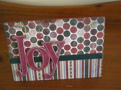 Joy Christmas Card - made by DeliaOhara1