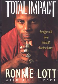 """Ronnie Lott """" The Hit Man """" Sport Football, Football Players, Nfl Championship Rings, 49ers Nation, Ronnie Lott, Sf Niners, Nfl 49ers, All Team, Lyric Quotes"""