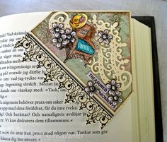 Heartfelt Creations | Treasured Moments Bookmark - what a great Mother's Day gift for the stall