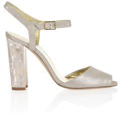 Marte by Freya Rose  www.freyarose.com  Perfect bridal shoes for your garden wedding.