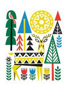 Folk Deer 2