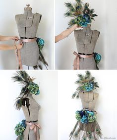 DIY Peacock Hallowee