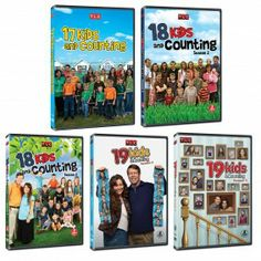 19 Kids and Counting Seasons 1-5 DVD SET