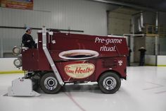 It doesn't get much more Canadian than this! Tim Hortons had K6 Media wrap a Zamboni!