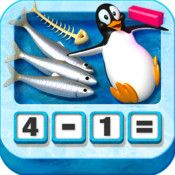 Subtracting Sardines, cute subtraction app, is also free right now! Free Math Apps, Best Math Apps, Great Apps, Educational Apps For Kids, Educational Videos, Educational Technology, App Of The Day, 8th Grade Math, Arithmetic