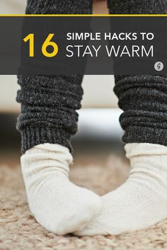 16 Tricks to Stay Warm This Winter (Without Using a Heater) #winter #warm #hacks