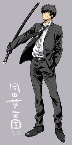 【刀剣乱舞】同田貫にスーツを着せてみた【とある審神者】 : とうらぶ速報~刀剣乱舞まとめブログ~