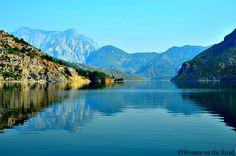 The beauty of Lake Komani in Albania