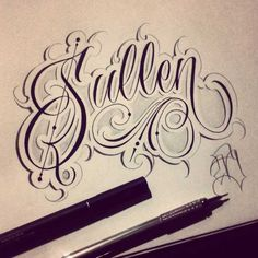 Black Barros is our first of manyfeatured calligraphy and custom lettering artists on the Script Killas blog! Black Barros, a.k.a Ricardo Barros is a unique and talented custom lettering artist with a great style.  Follow Black Barros on Instagram.                 Share