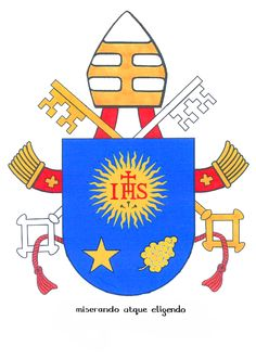 pope francis papal coat of arms | Pope Francis' coat of arms - Communio