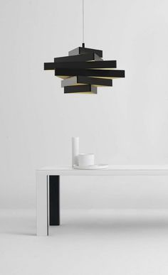 Lampada a sospensione in metallo MILES by Marchetti