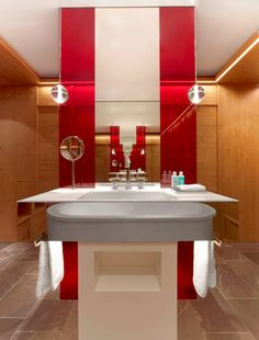 W Verbier, Switzerland uses Bliss products in their bathrooms » CONTEMPORIST #roomcritic