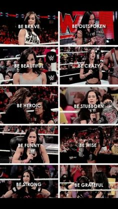 the many face of AJ Lee. #thankyouaj <3